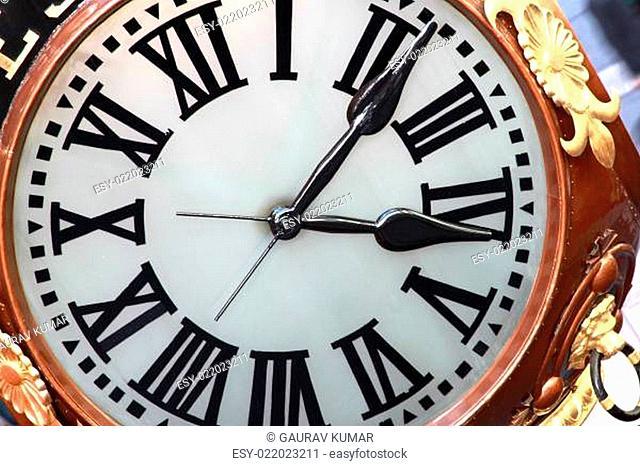 classic clock face
