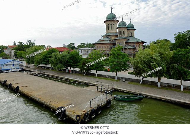 Romania, Tulcea County, Dobrudja, Dobruja, Danube Delta, Biosphere Reserve Danube Delta, river delta, estuary, Danube river mouth to the Black Sea