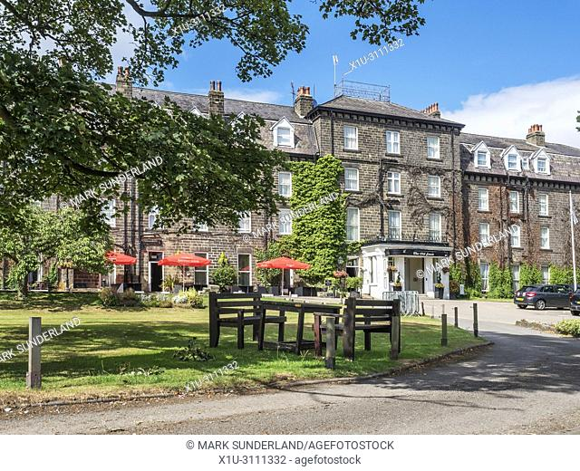 The Old Swan historic hotel which Agatha Christie famously disappeared to in 1926 Harrogate North Yorkshire England