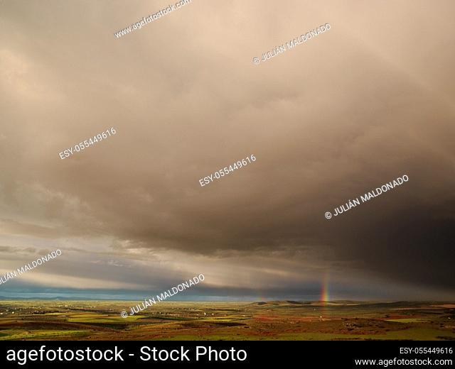Surroundings and rural landscape in Almagro, Spain