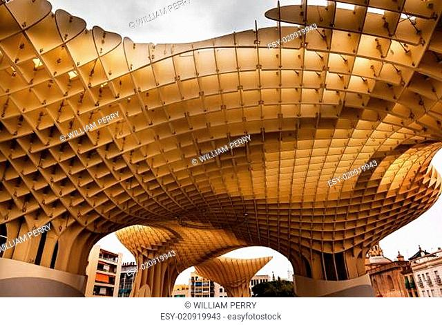 The Mushrooms Metropol Parasol Seville Andalusia Spain