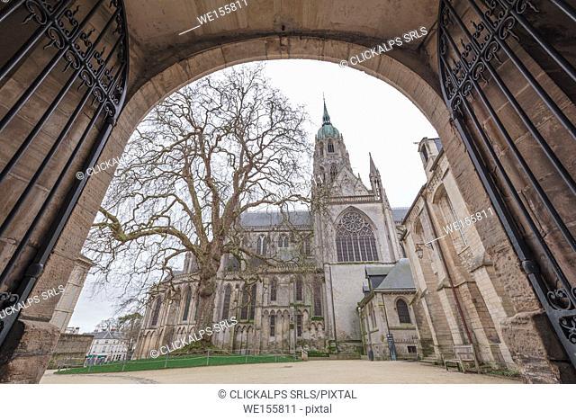 Notre Dame de Bayeux, Bayeux, Calvados département, Normandy, France, Europe