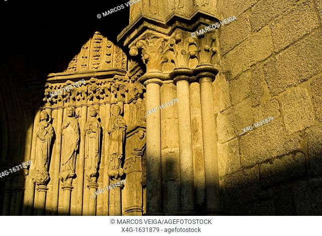Cathedral of Tui, Pontevedra, Galicia, Spain