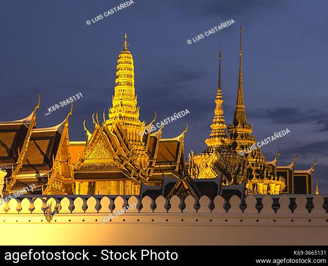 The Grand Palace is a complex of buildings at the heart of Bangkok, Thailand. The palace has been the official residence of the Kings of Siam (and later...