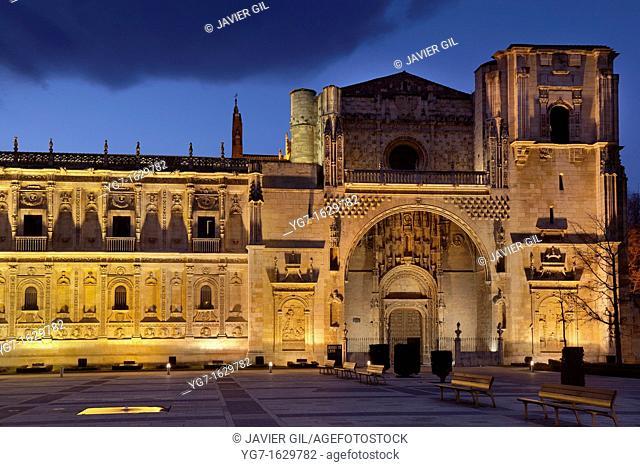 San Marcos convent, Leon, Castilla y Leon, Spain
