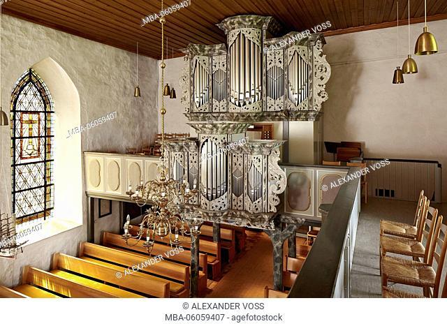 Germany, Schleswig-Holstein, Grömitz, Church of St. Nicholas