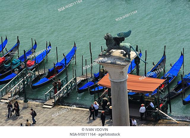 St Mark's Square, Venice, Italy, Europe