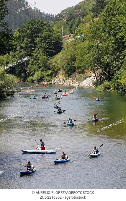 Descent of the River Sella. The Sella (Seya in Asturian) River is a short coastal river in northern Spain which flows into the Cantabrian Sea and runs through...