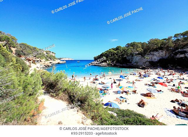 Cala Llombards, Majorca Island, Balearic Islands, Spain