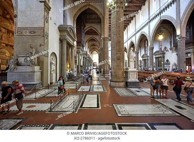 The Basilica di Santa Croce (Basilica of the Holy Cross) is the principal Franciscan church in Florence, Italy, and a minor basilica of the Roman Catholic...