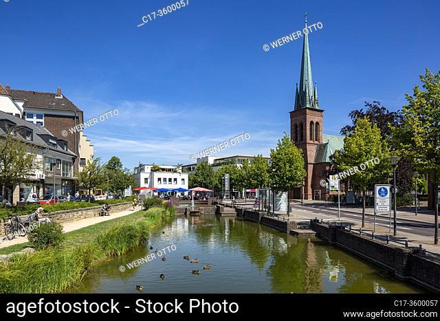 Dorsten, D-Dorsten, Lippe, Ruhr area, Hohe Mark Westmuensterland Nature Park, Muensterland, Westphalia, North Rhine-Westphalia, NRW, Suedwall and Ostwall