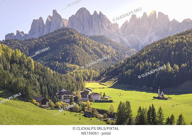 Puez Odle Natural Park, South Tyrol, Italy