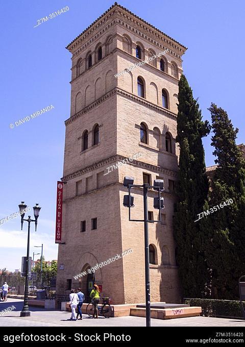 Torreón de la Zuda. Zaragoza. Aragón. España
