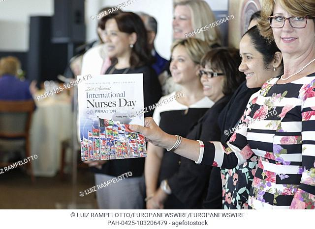 United Nations, New York, USA, May 11, 2018 - Second Annual International Nurses Day Seminar and Awards today at the UN Headquarters in New York City