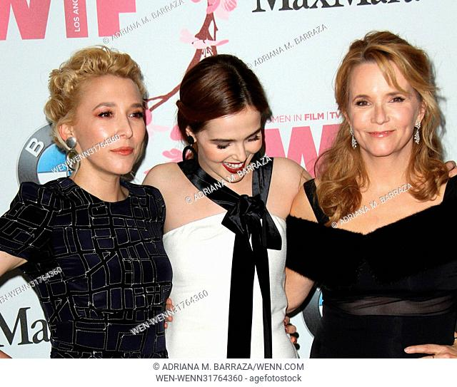 Women In Film 2017 Crystal and Lucy Awards held at The Beverly Hilton Hotel - Arrivals Featuring: Madelyn Deutch, Zoey Deutch