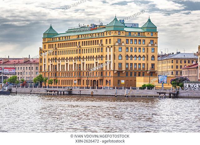 Courtyard Mariott hotel building, Saint Petersburg, Russia