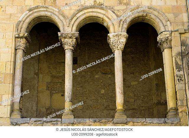 San Martín Church, in Segovia, city declarated Historical-Artistic Site, and World Heritage by UNESCO