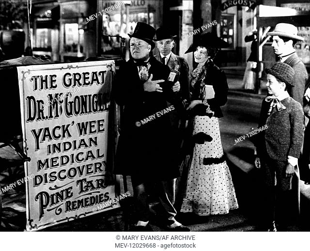 W.C. Fields Characters: THE GREAT MCGONIGLE / SQUIRE CRIBBS IN 'THE DRUNKARD' Film: The Old Fashioned Way (1932) Director: William Beaudine 13 July 1934