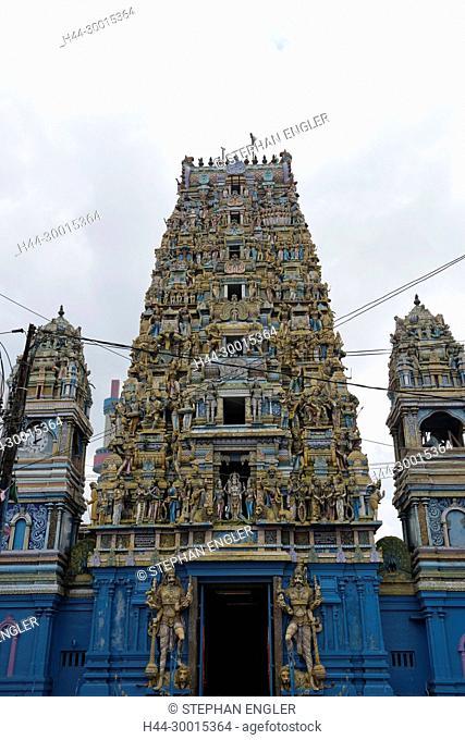 Sri Lanka, Colombo Asia, capital Hindu temple