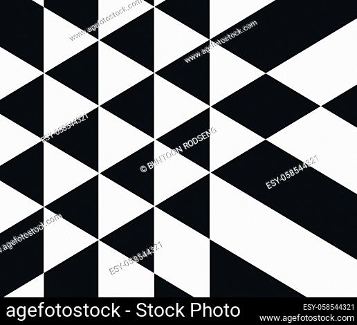 Modern technology illustration with square mesh. Vector abstract boxes cube cell background. Digital geometric abstraction with lines and points