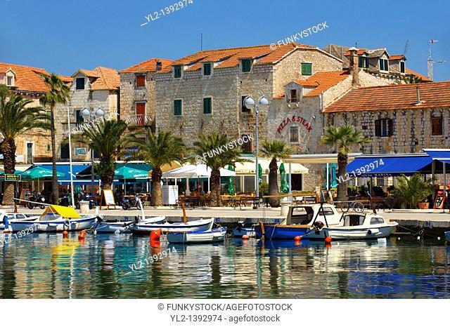 Supetar harbour, Brac island, Croatia