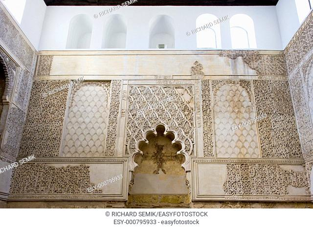 interior of synagogue, Cordoba, Andalusia, Spain