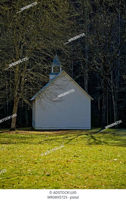 Church, Cataloochee Cove, Great Smoky Mtns NP, NC