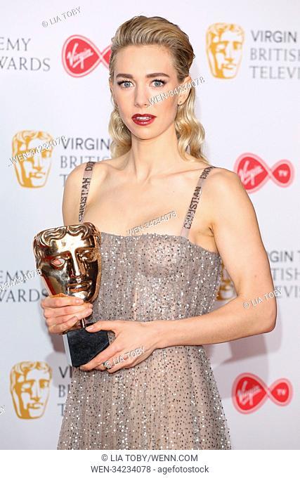 Virgin TV British Academy (BAFTA) Television Awards Winner Room Featuring: Vanessa Kirby Where: London, United Kingdom When: 13 May 2018 Credit: Lia Toby/WENN
