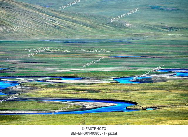 Scenery categories: Hulun Buir Prairie River Scenic Mo Spengler