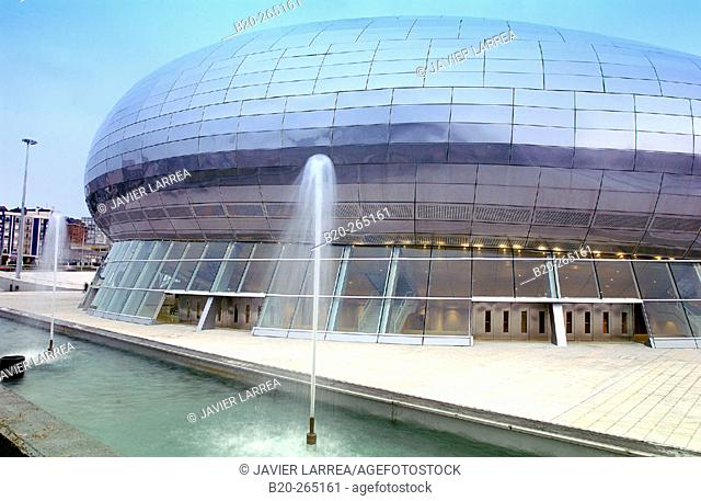 Palacio de los Deportes. Santander. Spain