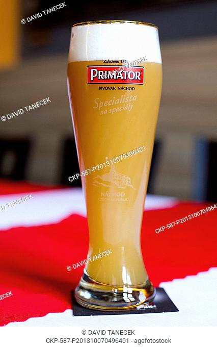 The best wheat beer in the world, according to British competition World Beer Awards, is Primator Weizenbier produced in Brewery Nachod
