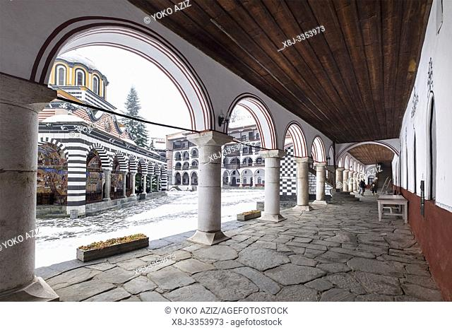 Bulgaria, Sofia, Rila, Monastery