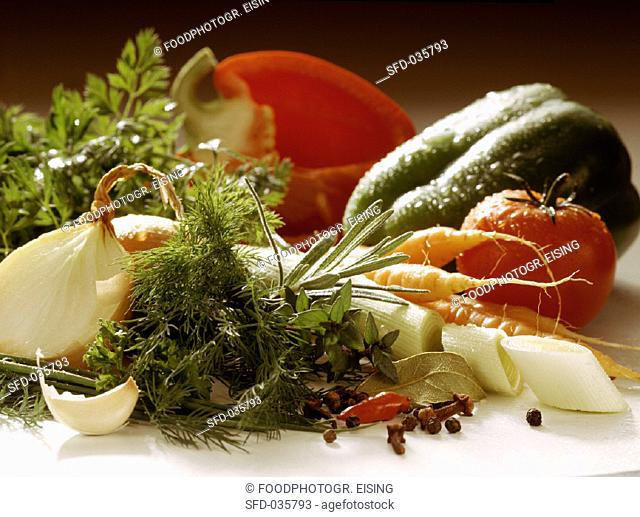 Vegetables, Herbs & Spices