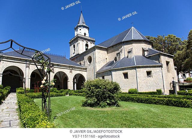 Sanctuary of 'La Encina', Artziniega, Alava, Basque Country, Spain
