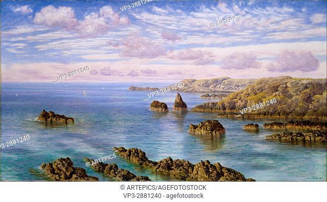 John Brett - Southern Coast of Guernsey - Birmingham Museum and Art Gallery