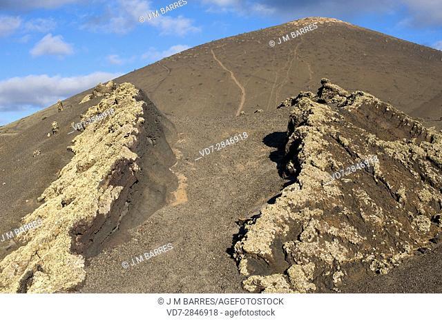 Los Volcanes Natural Park, Lanzarote Island, Las Palmas, Canary Islands, Spain