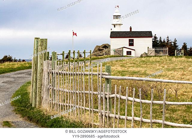 Lobster Cove Head Lighthouse - Gros Morne National Park, Rocky Harbour, Newfoundland, Canada