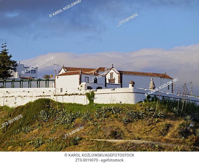 Fort of Sao Bras, Vila do Porto, Santa Maria Island, Azores, Portugal