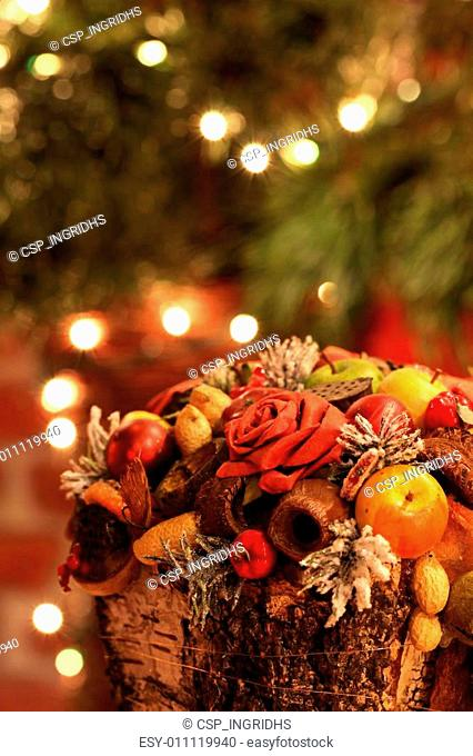 Colorful Christmas decoration