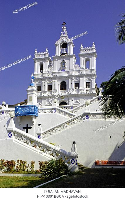 THE CHURCH OF OUR LADY OF THE IMMACULATE CONCEPTION, PANAJI, GOA, INDIA