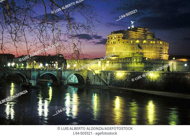 Sant'Angelo Castle. Rome. Italy