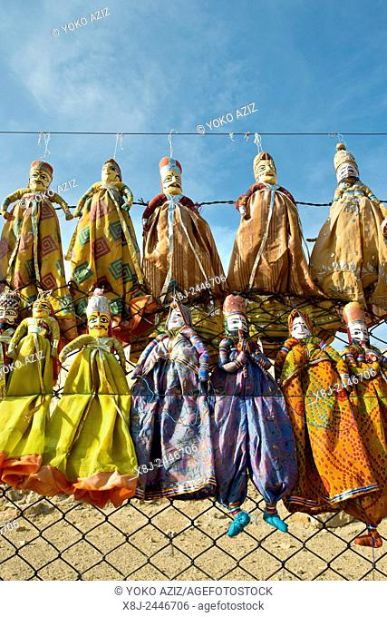 India, Rajasthan, Jaisalmer, souvenirs