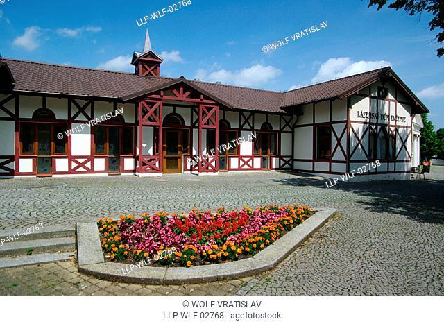 Spa House Evzenie in Klasterec nad Ohri, Usti nad Labem Region, Czech Republic