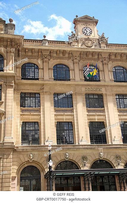 Post Office Palace, 2012, Anhangabaú Valley, Capital, Center, São Paulo, Brazil