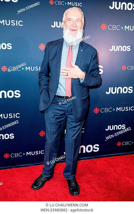 2018 JUNO Awards, held at the Rogers Arena in Vancouver, Canada. Featuring: Fred Penner Where: Vancouver, British Columbia