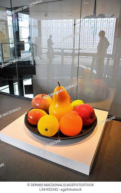 Fruit Art Museum of Glass Corning New York Finger Lakes Region