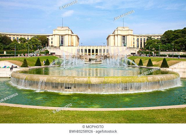 Palais de Chaillot, France, Paris
