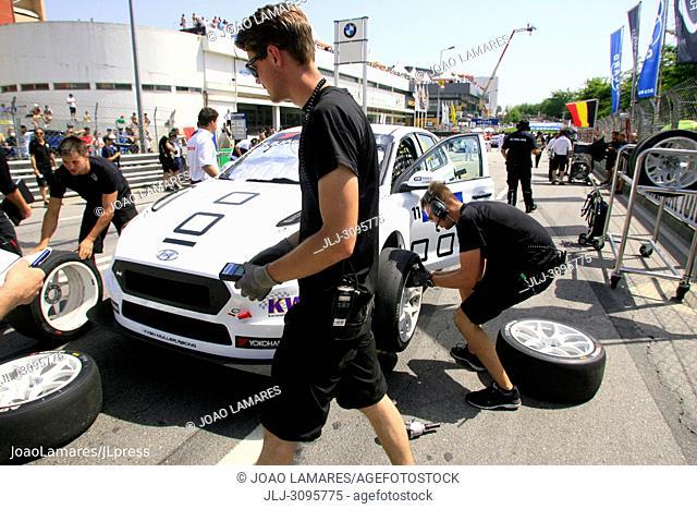 T. Bjork, Hyundai i30 N TCR #11, WTCR Race of Portugal 2018, Vila Real