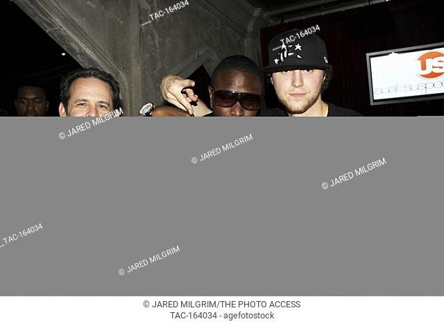 Calico Jonez (c) attends Soulja Boy Tell 'Em aka Deandre Way 20th Birthday at The Highlands in Hollywood, Ca