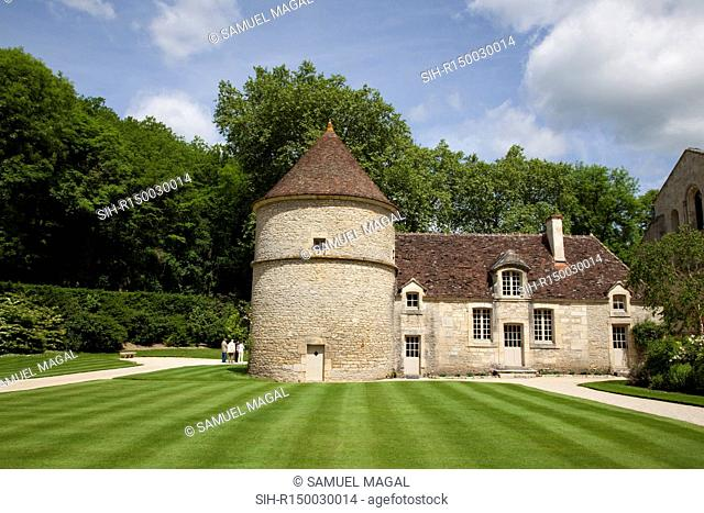Fontenay Abbey was founded by St. Bernard in 1118. It is one of the oldest Cistercian abbeys founded from Citeaux, the first monastery of the Cistercian reform...